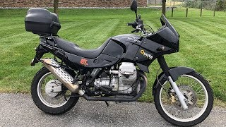 Moto Guzzi Quota Test Drive( Never heard of this one)