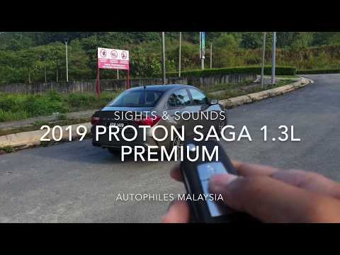 2019 Proton Saga Premium | Sights & Sounds | Car ASMR