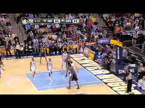 Indiana Pacers vs Denver Nuggets - January 28, 2013
