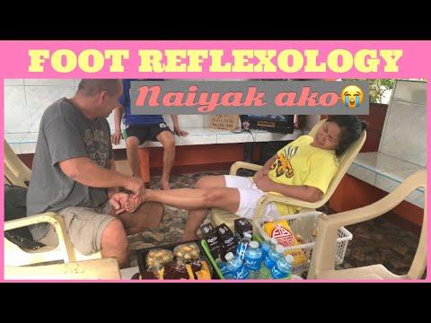 FOOT REFLEX || SILANG TAGAYTAY || NAIYAK AKO SA SAKIT