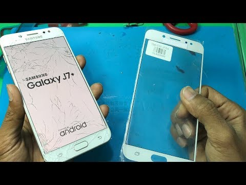 Samsung J7 plus touch glass replacement