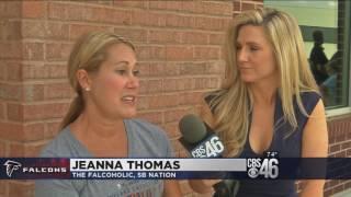 NFL Writer Jeanna Thomas Talks Falcons OTAs on CBS46 Sports