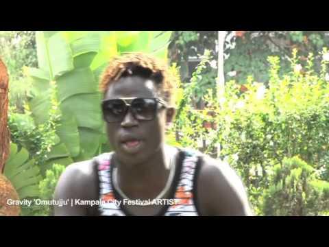 Kampala City Festival artist - Gravity Omutujju
