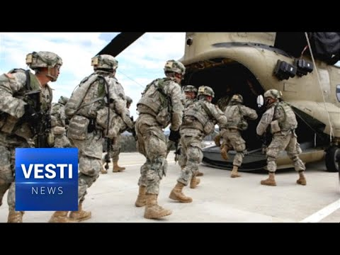 BREAKING! American Soldiers Already in Place? Venezuelan Military Spots Deployment in Colombia