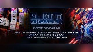 Bjorn Akesson January Asia Tour 2018
