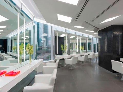 contoh desain interior ruangan salon minimalis dan modern