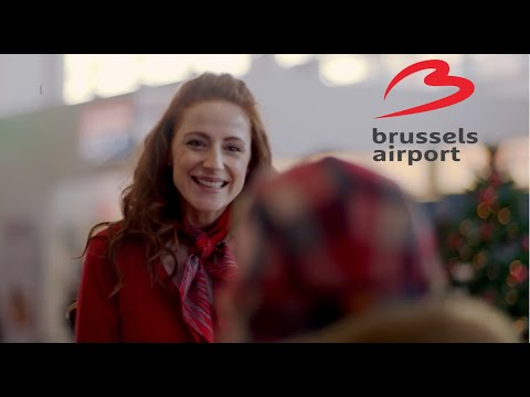 Vidéo Tournage - Season's greetings from Brussels Airport