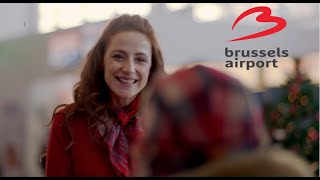 Tournage - Season's greetings from Brussels Airport