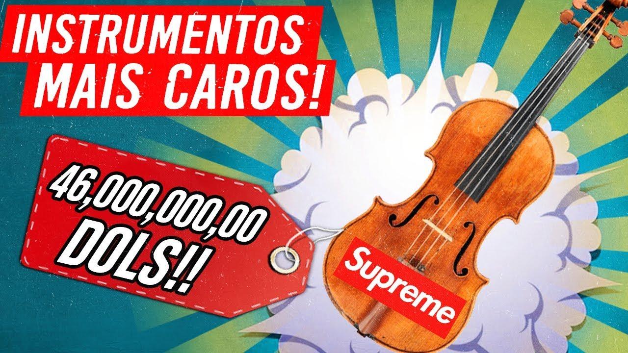 5 Instrumentos MAIS CAROS do MUNDO! ???? ????