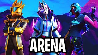 We passed the car in this Trio Arena-Fortnite Battle Royale