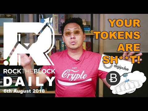 "DigiPulse ""DE-TOKENIZES"" business model, Bitpico Rage Quits BTC, & Loans & Stocks In Crypto"