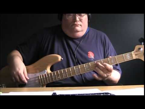 Billy Joel Just The Way You Are Bass Cover With Notes Tablature