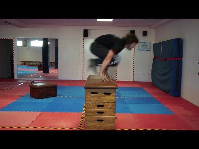 Parkour: Katze/Kong lernen Teil 2 mit Max