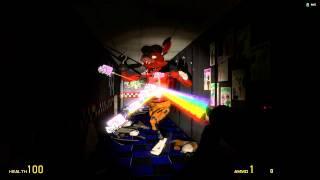 Foxy love Nyan Cat Gmod