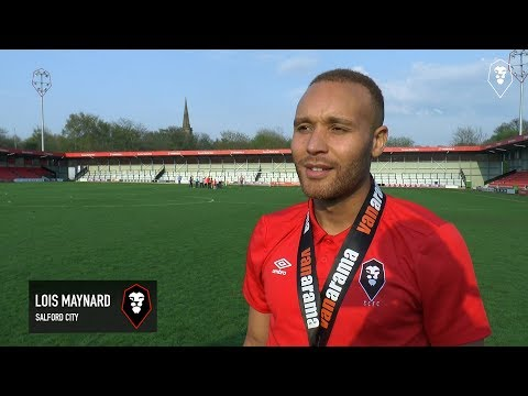 NATIONAL LEAGUE NORTH CHAMPIONS | Reaction from Lois Maynard