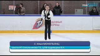 Илья Монопьянц 3 спортивный разряд