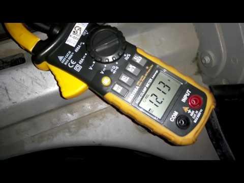 поиск утечки тока в автомобиле BMW E60 садит аккумулятор в ноль, сгорел MPM