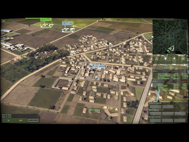 Países Bajos! | 4vs4 | Wargame Red Dragon | #39