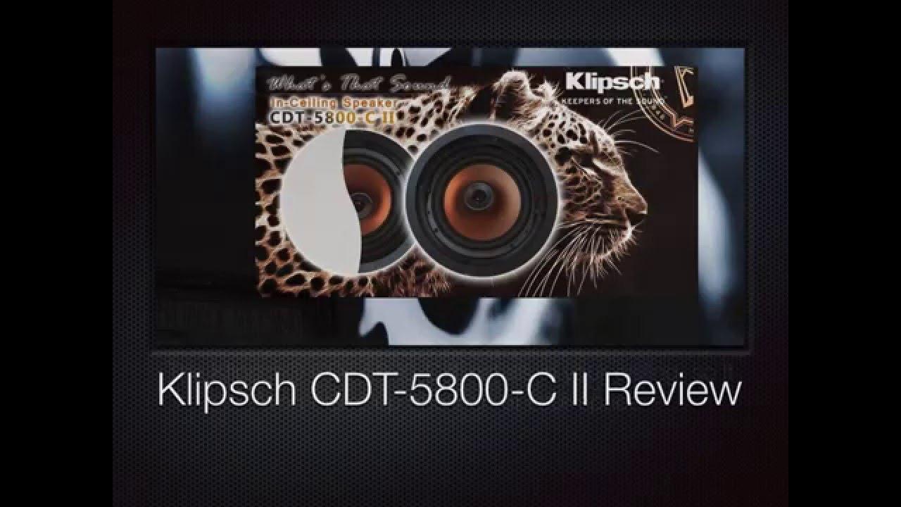 Shop the klipsch cdt-3650-c ii 6. 5
