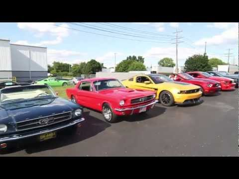 Mustang Owners Club of South East Michigan (MOCSEM) Event at ROUSH Performance 7.10.12