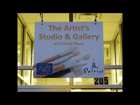 Artists Studio and Gallery at Patriots Place - the FUN ART Gallery for ALL :)