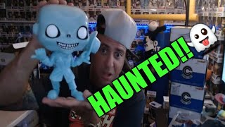 Funko Pop Giveaway and Haunted Mansion unboxing