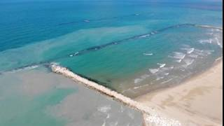 Casalbordino Lido, il video dei lavori di ripascimento sul litorale sud