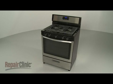 Whirlpool Gas Range Disassembly