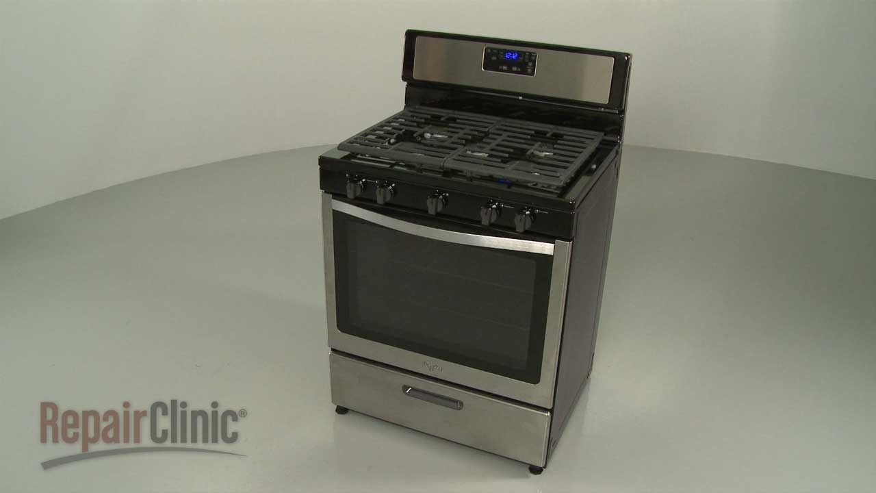Whirlpool Gas Range Disassembly Range Repair Help Youtube