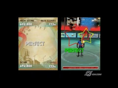 FIFA Street 3 Nintendo DS Gameplay - Dance!