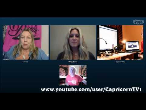 Lorraine Roe - Psychic Housewife - Hillary & James @ Capricorn Radio