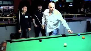 Real Pool match William Finnegan vs Ryan Boursse