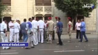 بالفيديو.. تفكيك عبوة هيكلية بشارع محمد فريد في وسط القاهرة