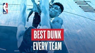 NBA's Best Dunk Every Team   2018-19 NBA Season   #NBADunkWeek