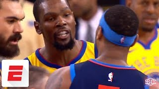 Warriors win another scrappy battle against the Thunder | ESPN