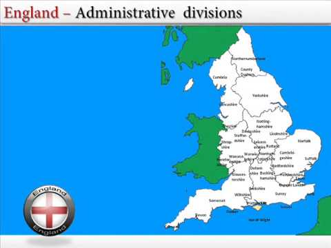 England On Map Of World.Map Of England
