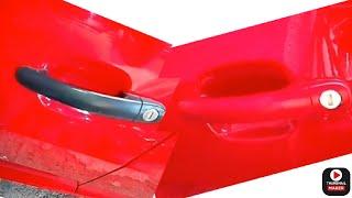 Pintado manijas Seat Ibiza 2014 al color de la carrocería