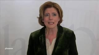 Pressekonferenz mit malu dreyer (spd, ministerpräsidentin rheinland-pfalz) zum coronavirus am 16.03.20
