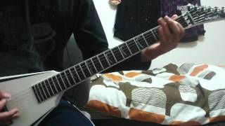 ARCH ENEMY--Yesterday Is Dead AndGone Khaos Legions guitar cover 撮...