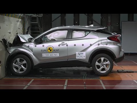 toyota chr vs honda hrv euro ncap youtube. Black Bedroom Furniture Sets. Home Design Ideas