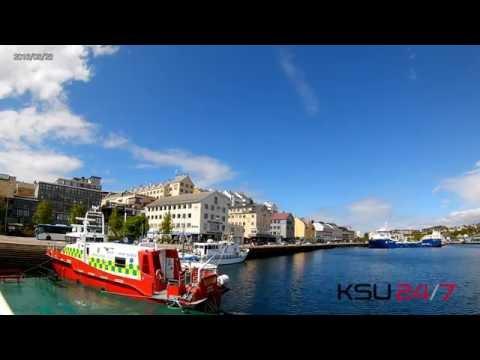Sakte-TV: Kristiansund havn / Kristiansund harbour