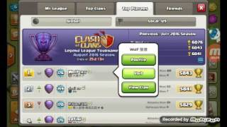 Clash of Clans, 999 troop attack!