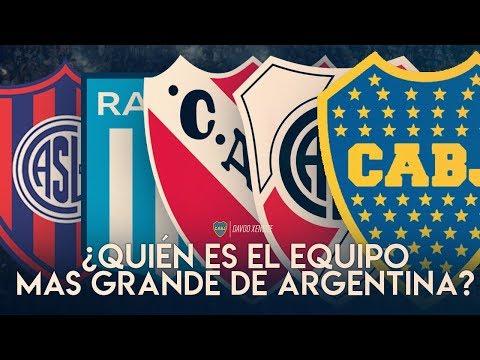¿Quién es el equipo más grande de Argentina? Explicación 2019