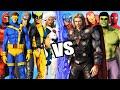 THE AVENGERS VS X-MEN - Epic battle