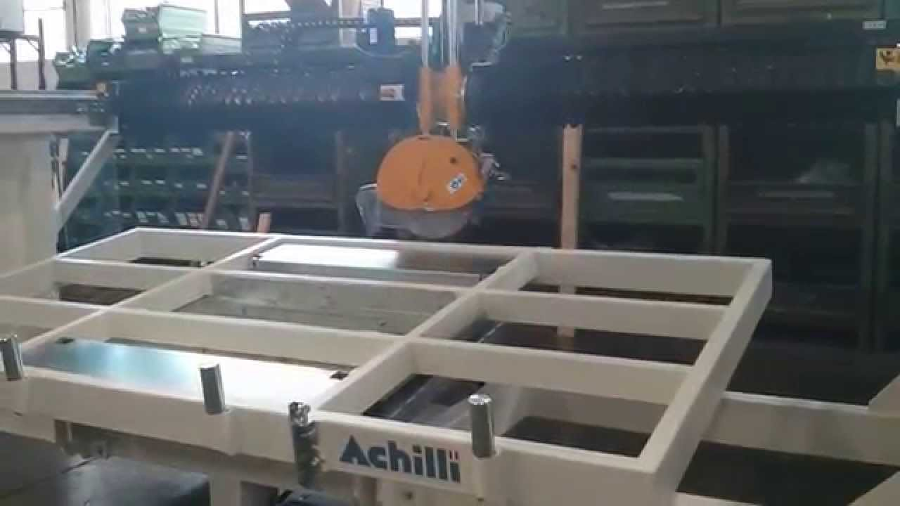 Granite Tilt Table For Bridge Saws Youtube