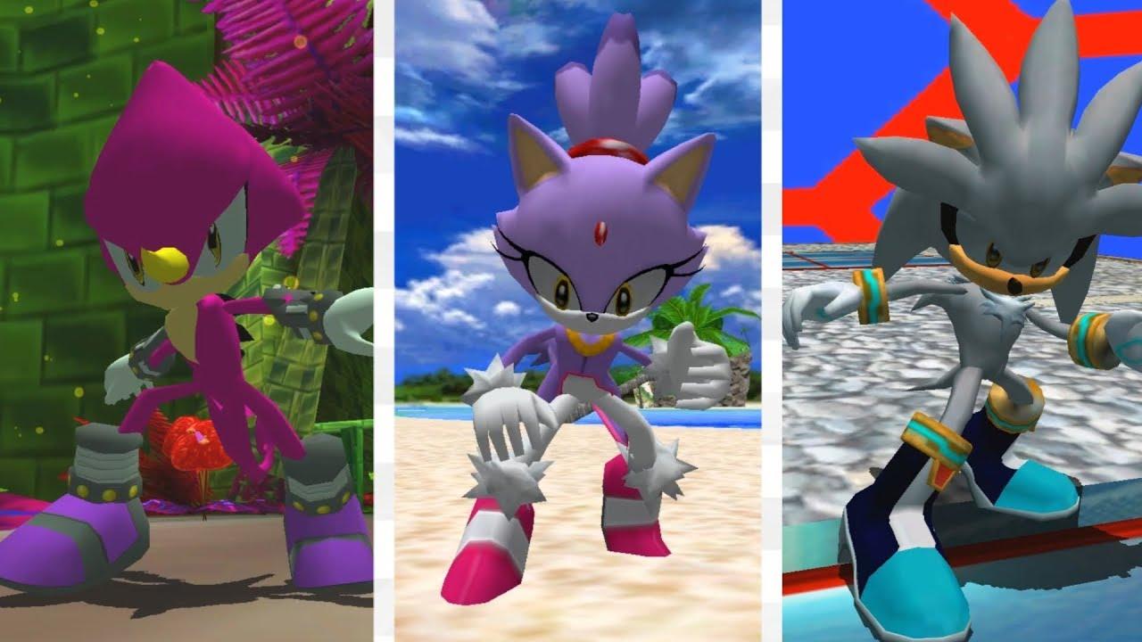 Sonic Adventure 2 Silver Blaze And Espio Youtube