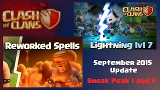 Clash of Clans | September 2015 New Clash of Clans Update, Sneak Peak 1 and 2