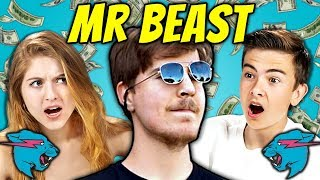 Teens React To MrBeast