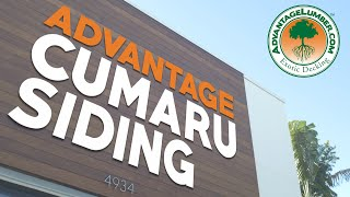 Advantage Cumaru Rainscreen Siding™ & Small Handrails