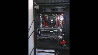 H100 com 4 deltas cooler